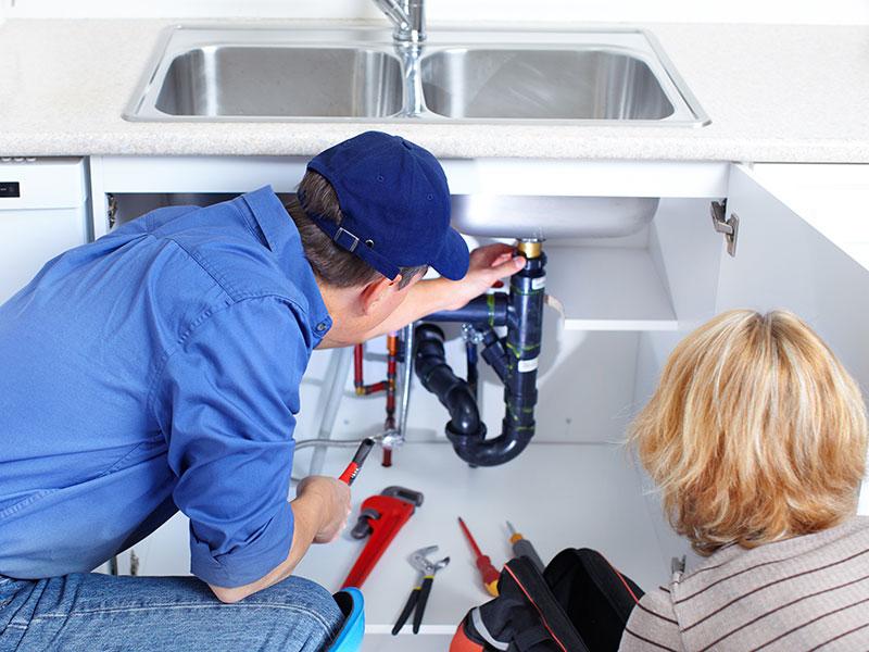 Loodgieter- en sloopwerk